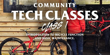 Community Tech Class #1 - Intro to Bicycle Function/Basic Maintenance tickets