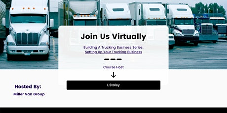 Building A Trucking Business Series: Setting Up Your Trucking Business tickets