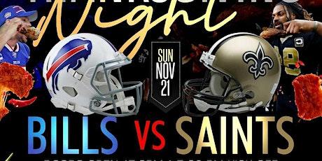 Bills vs Saints tickets