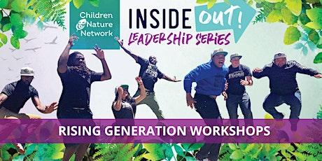Rising Generation Summer Workshop Series:  Cultural Heritage tickets