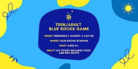 Teen/Adult Blue Rocks Game tickets