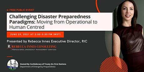 Challenging Disaster Preparedness Paradigms of Public+Private Organizations tickets