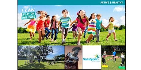 Active & Healthy June School Holidays GLADIATOR GAMES tickets