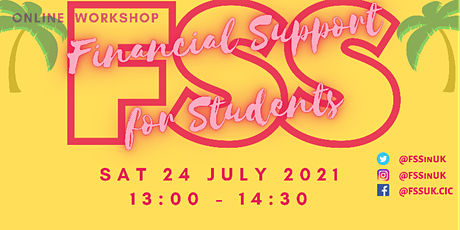 FSS - Financial Support for Students Workshop (July) tickets
