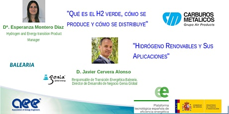 Hidrógeno Verde(AEE Spain Chapter y PTE de Eficiencia Energética) biglietti