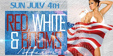 RED, WHITE & BOOMS  Affair | Heroes 4th of July BBQ Bash! tickets