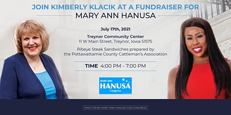 Kimberly Klacik Fundraiser for Mary Ann Hanusa for Congress tickets