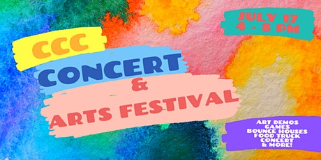 CCC Arts Festival and Concert tickets