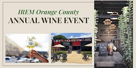 IREM Orange County Annual Wine Event tickets