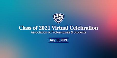 APS Class of 2021 Virtual Graduation Celebration tickets