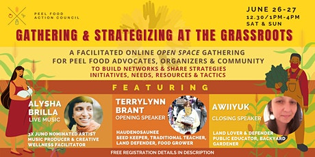 Food Justice in Peel   Grassroots Gathering & Strategizing tickets