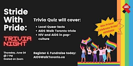 Stride With Pride: Trivia Night tickets