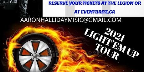 Aaron Halliday Light'em Up Tour tickets