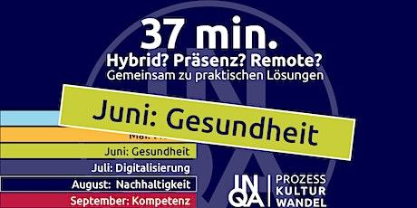 37Min / ErgoCheck - auch mobil gesund arbeiten Tickets