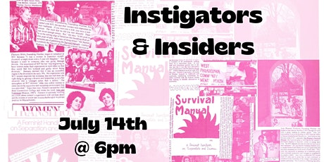 Instigators and Insiders: A Look Back at Women In Transition's History tickets