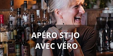 Apéro St-Jo avec Véro billets
