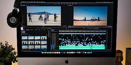 Video Editing Full Filmora and Premier pro tickets