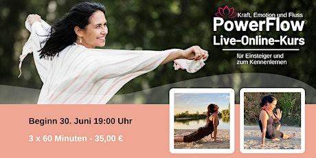 PowerFlow Live-Online-Schnupper-Kurs Tickets