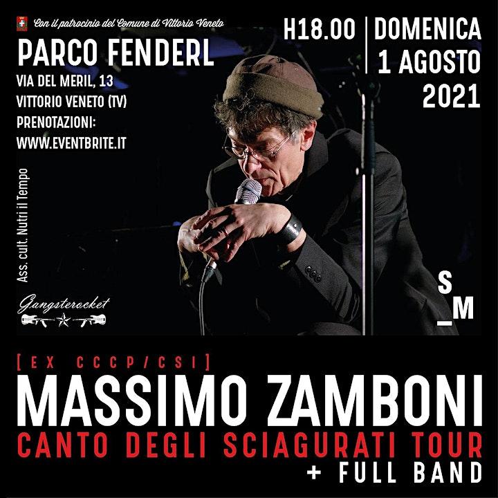Immagine Massimo Zamboni Canto degli sciagurati - 01-08 - 21 / Vittorio Veneto (TV)