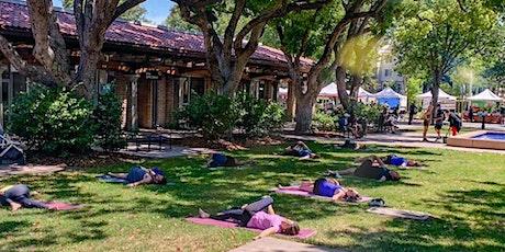 Outdoor Farmers Market Yoga in Santa Clara tickets