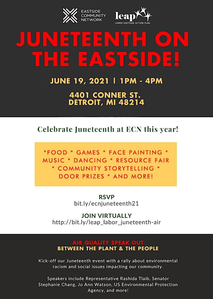 Juneteenth on the Eastside! image