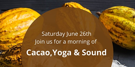 Cacao, Yoga & Sound Experience tickets