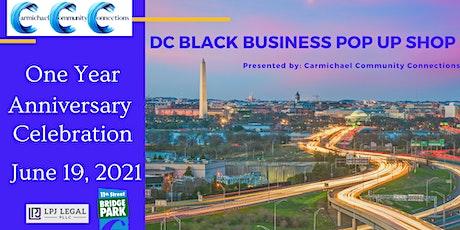 Shop DC Black Business Pop Up Shop Summer 2021 tickets