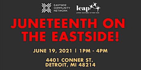 Juneteenth on the Eastside! tickets