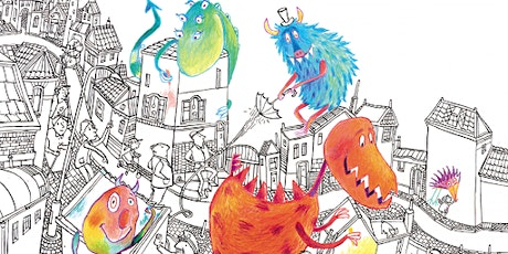 Studio C workshop: monsters tekenen tickets