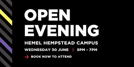 West Herts College Open Evening - Hemel Hempstead campus tickets