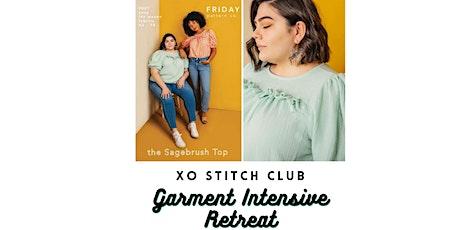 XO  Stitch Club : Garment Sewing Retreat tickets