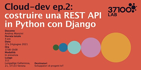Cloud-dev ep.2: costruire una REST API in Python c biglietti
