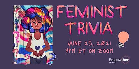 Feminist Trivia Night - June 2021 tickets