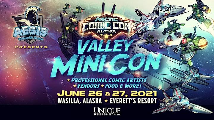 Arctic Comic Con Valley Mini Con image