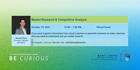 Market Research and Competitive Analysis tickets