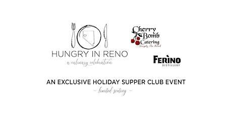 2021 Hungry Supper Club: Ferino + Cherry Bomb tickets