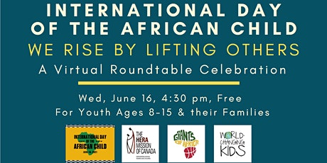 International Day of the African Child – A Virtual Roundtable Celebration tickets