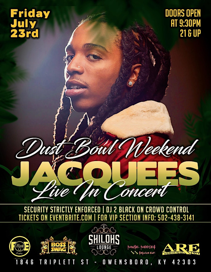 Jacquees Live Dust Bowl Weekend image