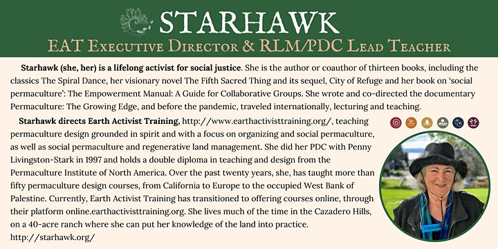 Magical Mystery Tour: Starhawk's 70th Birthday Ritual & Solstice Fundraiser image