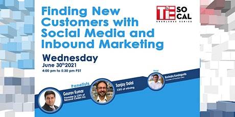 Finding New Customers with Social Media and Inbound Marketing tickets