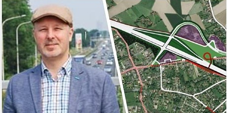 Online presentatie over het geplande op- en afrittencomplex in Baarle biljetter