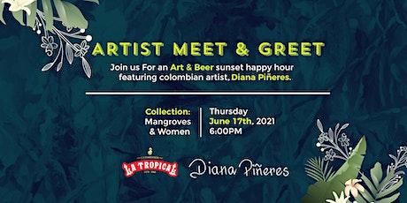 Artist Diana Pineres @ La Tropical tickets