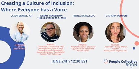 Creating a Culture of Inclusion: Where Everyone has a Voice tickets