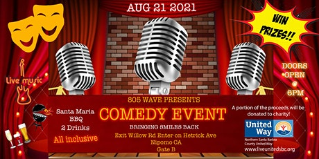 Central Coast Wining, Dining & Comedy Event tickets