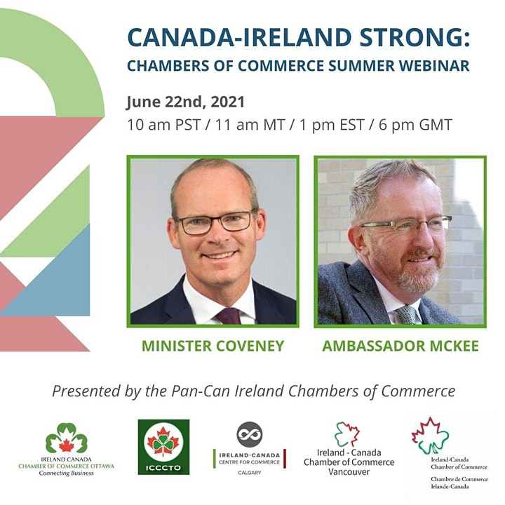 Canada-Ireland Strong: Conversation with Minister Simon Coveney TD image