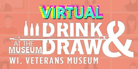 Virtual Drink & Draw August tickets