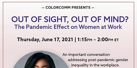 Comcast NBCUniversal Presents: Out of Sight, Out of Mind? tickets