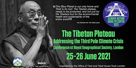 The Tibetan Plateau: Addressing the Third Pole Climate Crisis - Day 1 tickets
