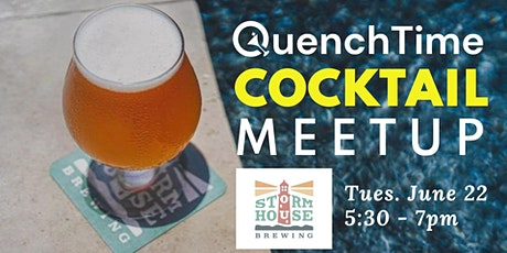 *FREE* QuenchTime Cocktail Meetup at Stormhouse Brewing in North Palm Beach tickets