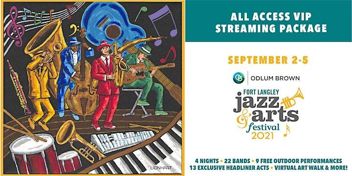Odlum Brown Fort Langley Jazz & Arts Festival - ONLINE Live Streaming image